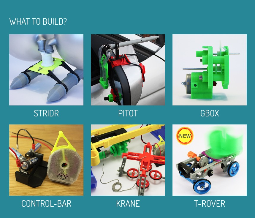 Laykanics educational 3D printing projects