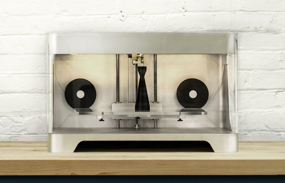 The Markforged Mark 2 carbon-fiber/nylon 3D printer is now available from 3D Hubs