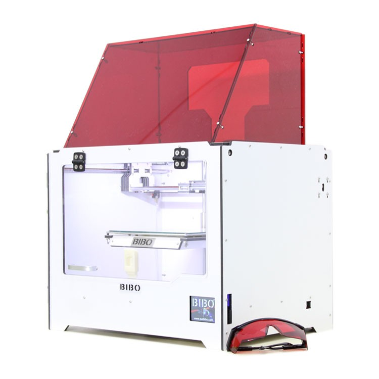 The Bibo 2 Touch 3D Printer & Laser Engraver's Price Will