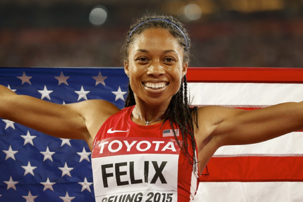 Allyson Felix hopes her 3D printed shoes will help her Olympic efforts