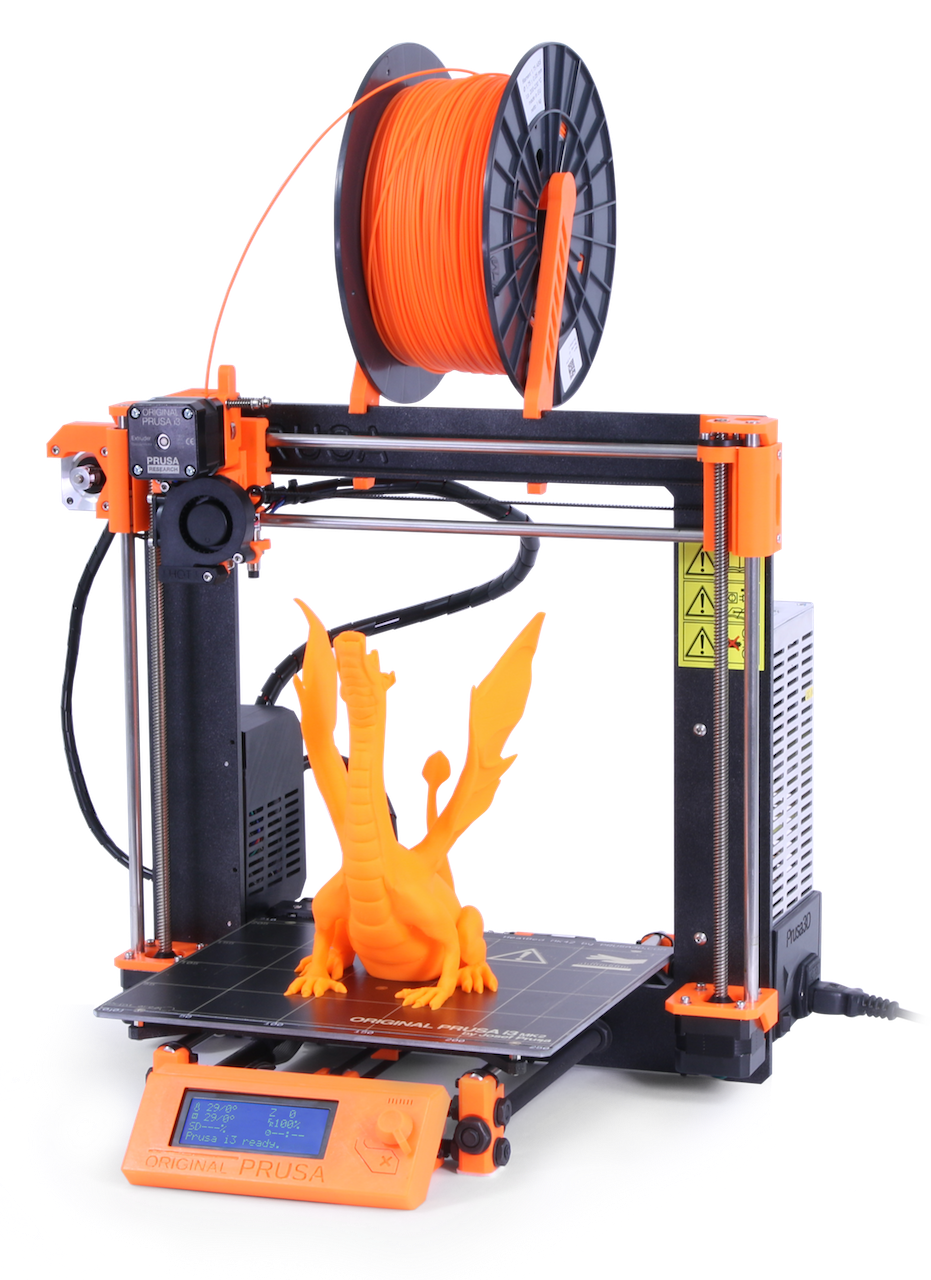 The new Prusa i3 MK2