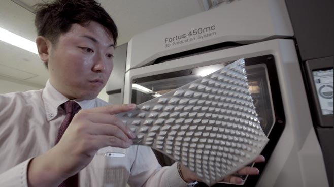 Daihatsu has productionized custom 3D printed panels for their Copen vehicle