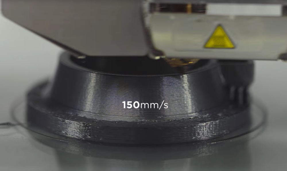 PRO1 filament printing at high speed