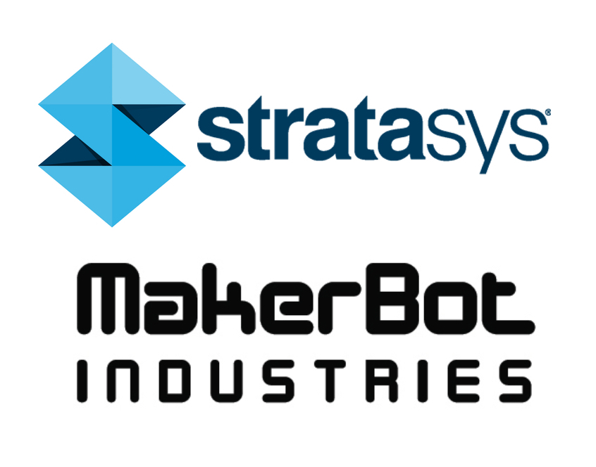 Stratasys and MakerBot logos