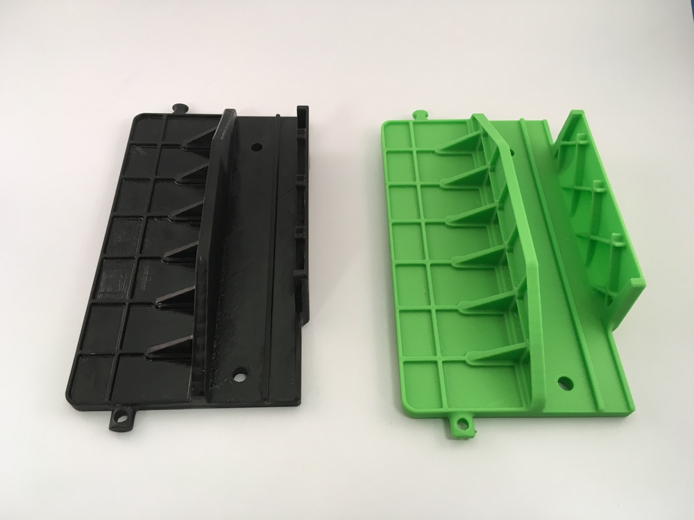 Comparing 3D prints from high-end industrial equipment vs low-cost desktop equipment