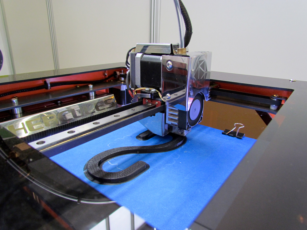 Inside the Hercules 3D printer from Imprinta