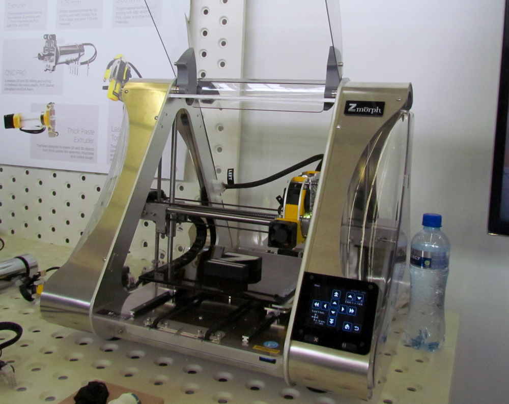 The ZMorph 2.0 SX multi-tool 3D printer