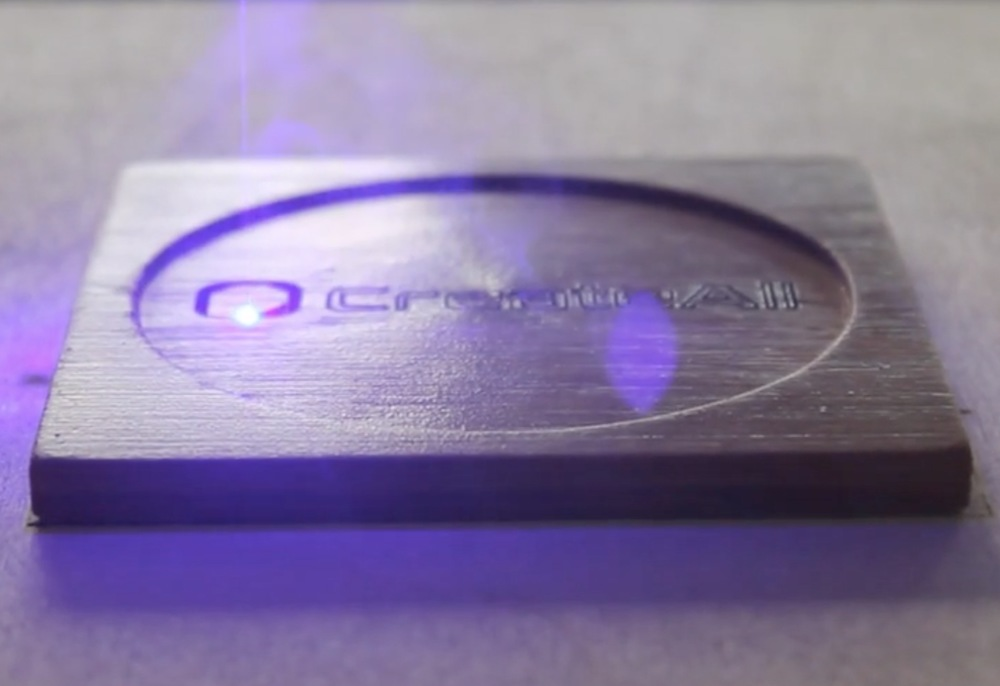 Laser etching with the Versa3D