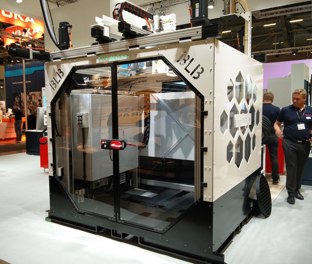 """The Box"", a massive 3D printer from Sweden"