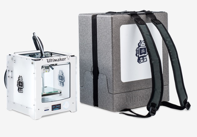 Ultimaker's portability accessory: the Backpack