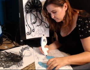 Katherine Bialek, creator of the live-streaming 3D printing platform, MyMultiExtruder