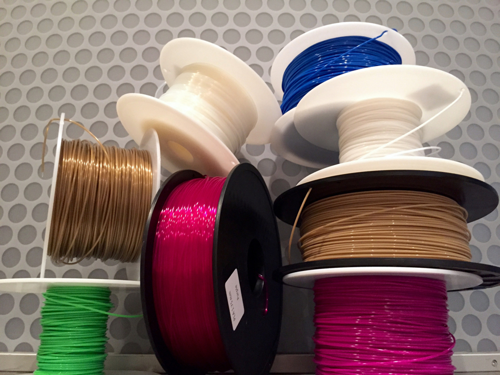 A choice of filaments. Which kind is the best?