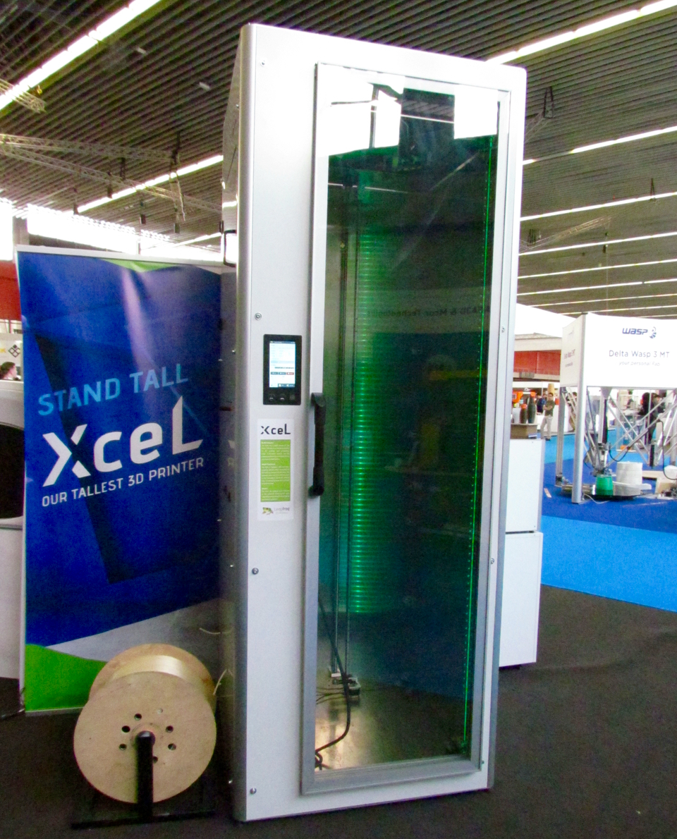 Leapfrog's ultra-tall Xcel 3D printer