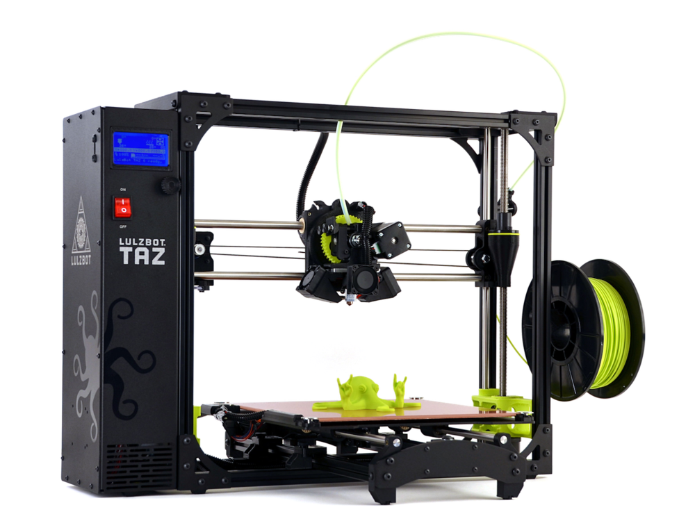 The LulzBot TAZ 6 from Aleph Objects
