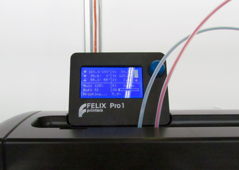 The FELIX Pro 1 has a couple of very interesting features