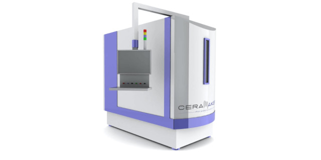 The Ceramaker 3D printer from 3DCeram. (Image courtesy of 3DCeram.)