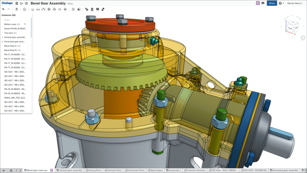 Onshape can help design some fairly complex 3D models