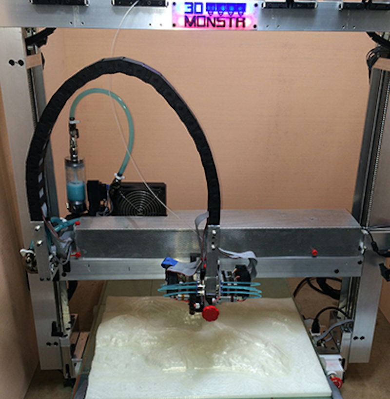 3D Monstr's T-Rex desktop 3D printer