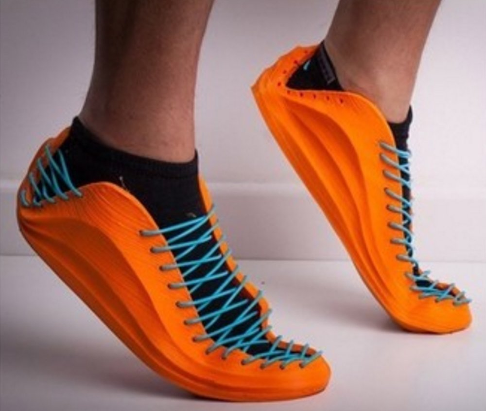 3D printed sneakers by Recreus3D