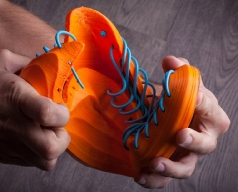 Yes, these are definitely flexible 3D printed shoes
