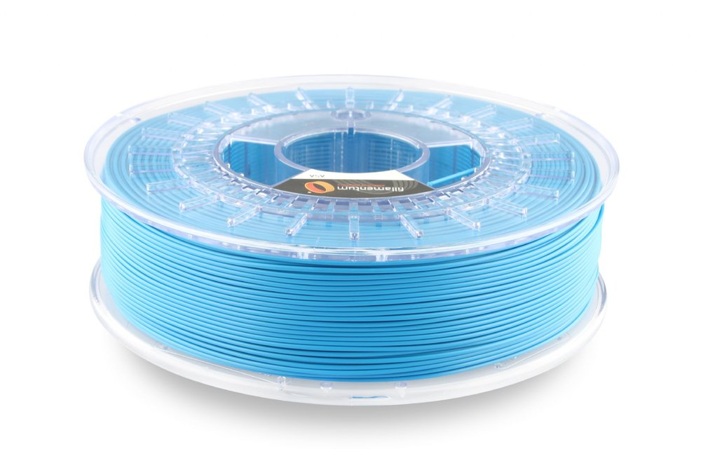 A sample spool of ASA 3D printer filament from Filamentum