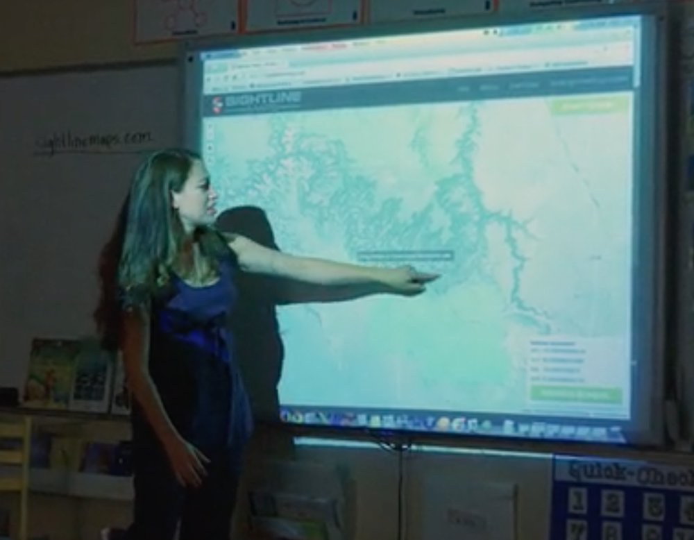 Educators can make very good use of Sightline Maps' new service