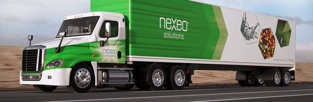 A Nexeo Solutions truck - full of 3D printer filament?
