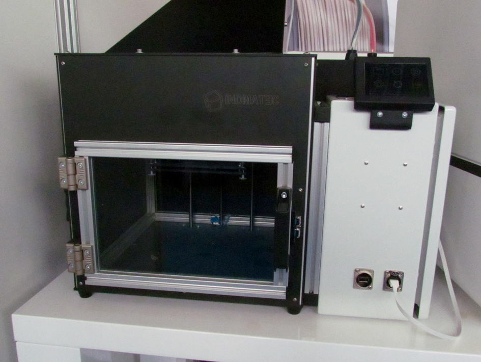 Indmatec's original PEEK 3D printer
