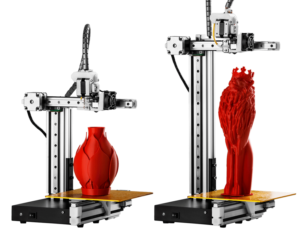 The Cetus desktop 3D printer comes in two sizes