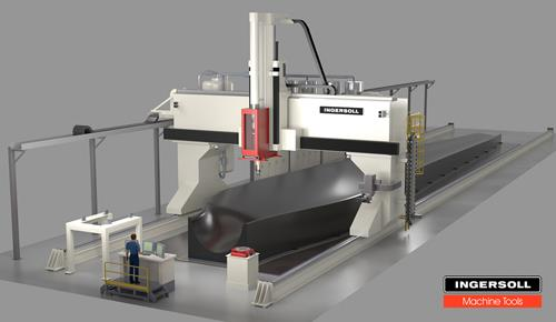 The massive WHAM concept from Ingersoll Machine Tools and ORNL