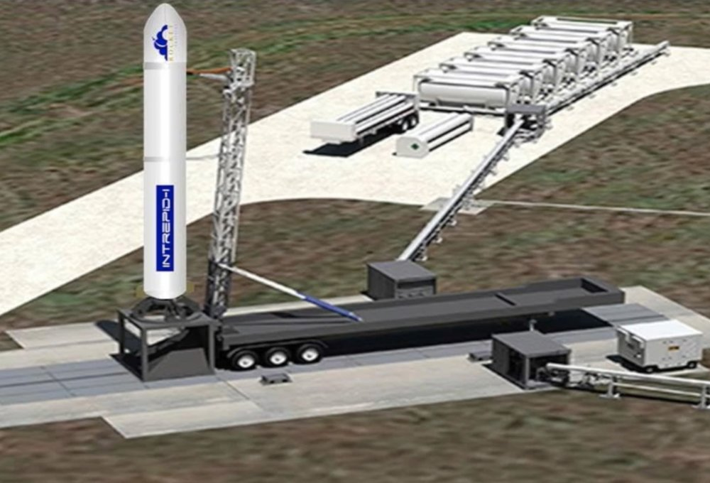 The Intrepid rocket concept by Rocket Crafters will use 3D printed fuel