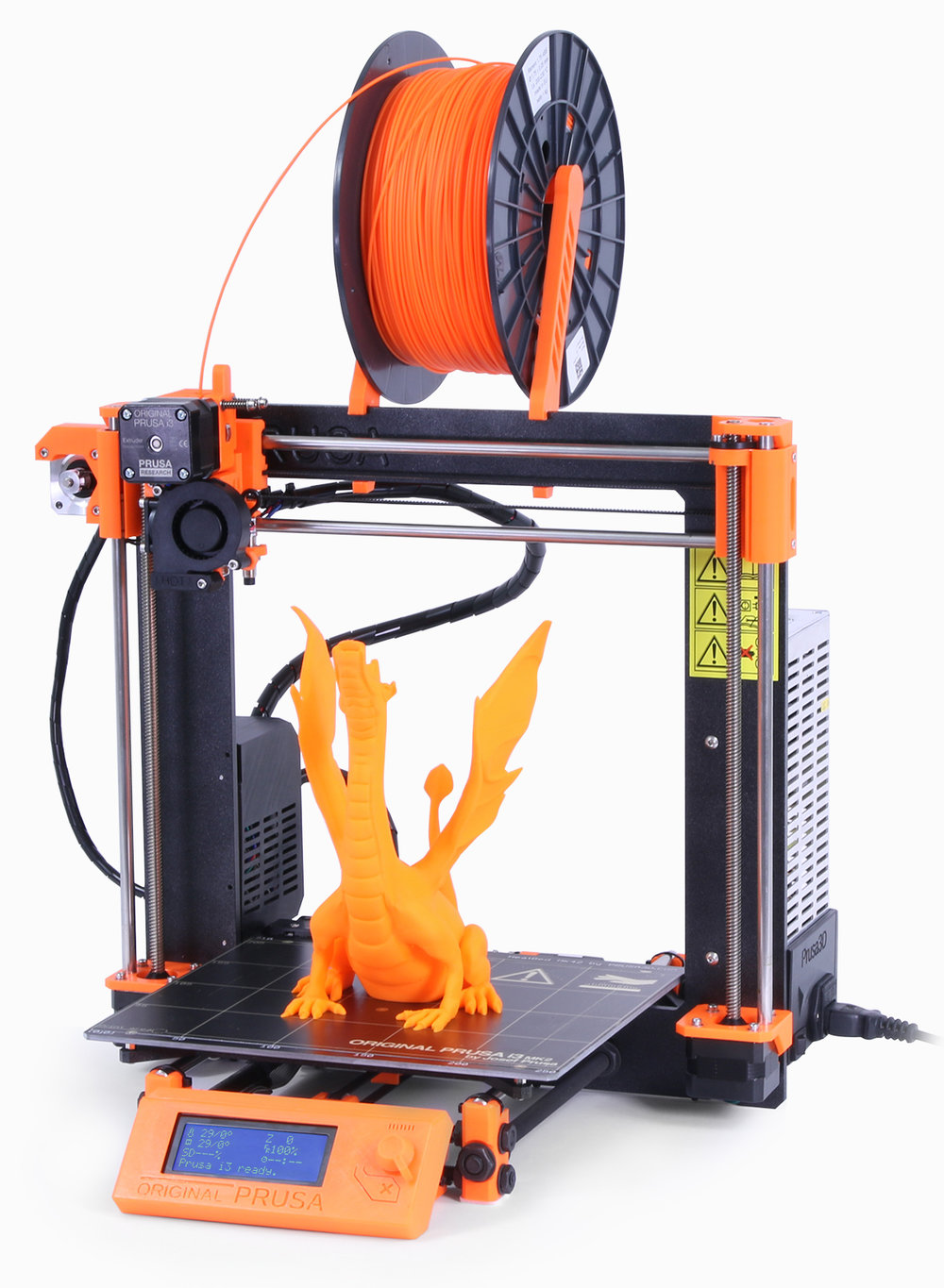 The Prusa i3 MK2 now includes a powerful automated calibration system
