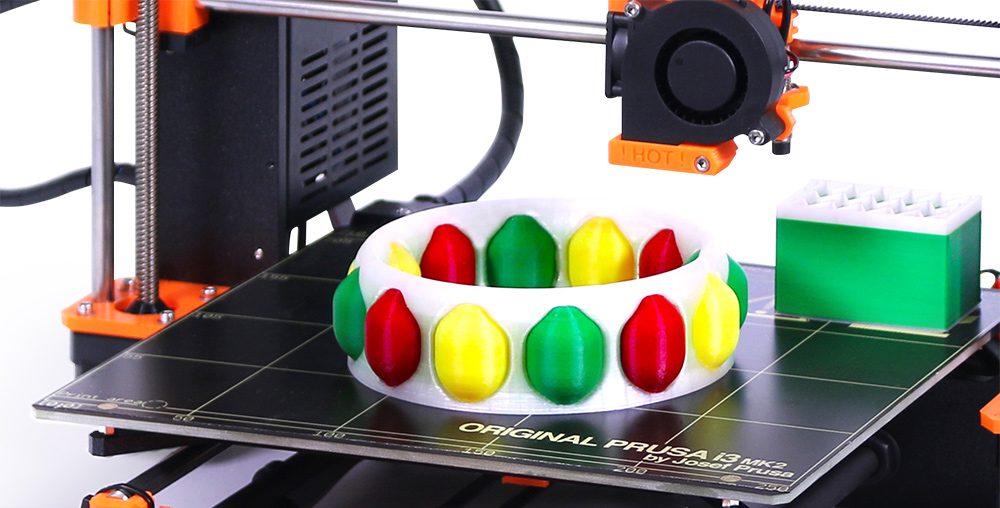 Prusa's new quad-color 3D printing concept