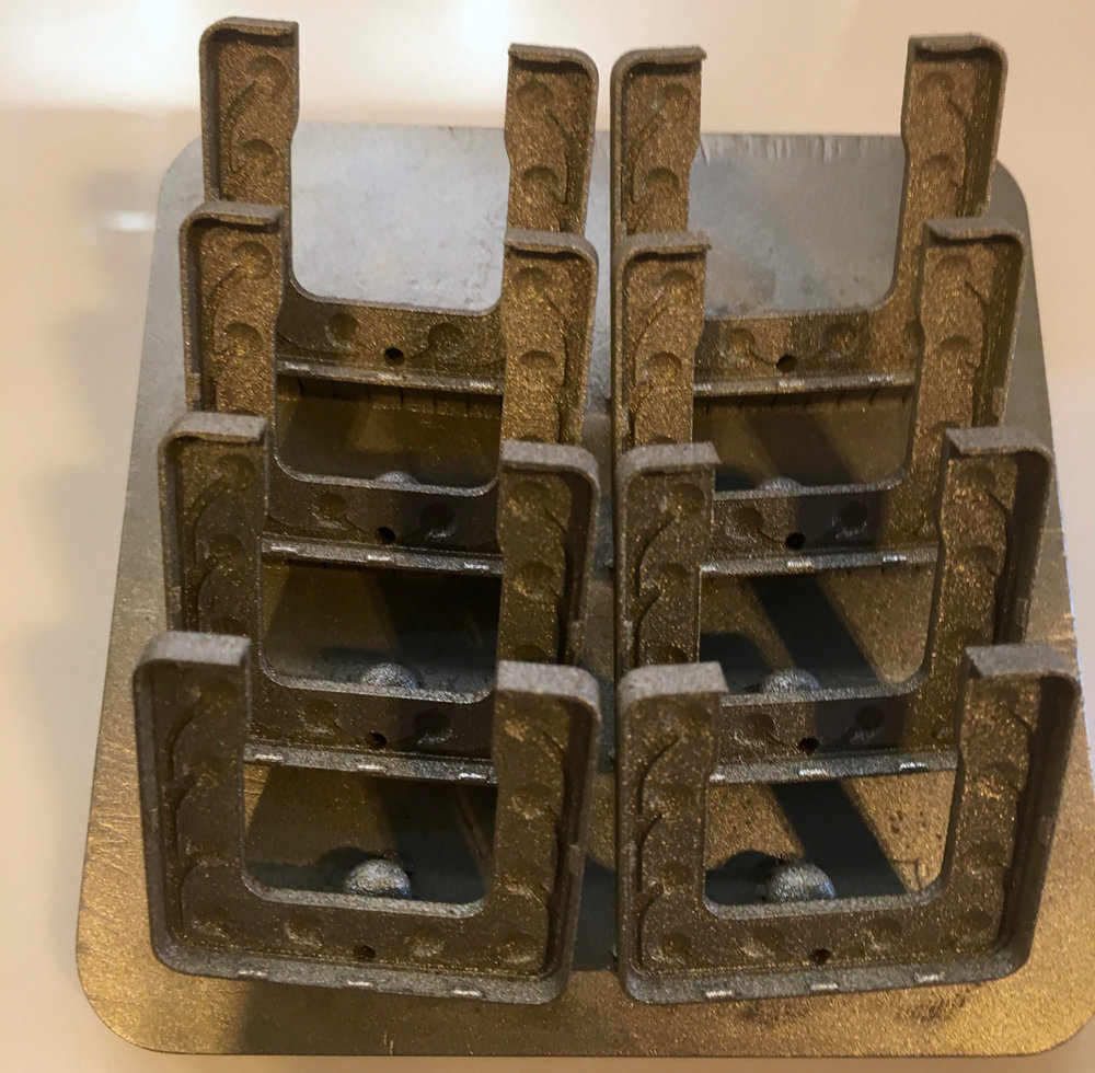 3D printed metal samples from SLM Solutions