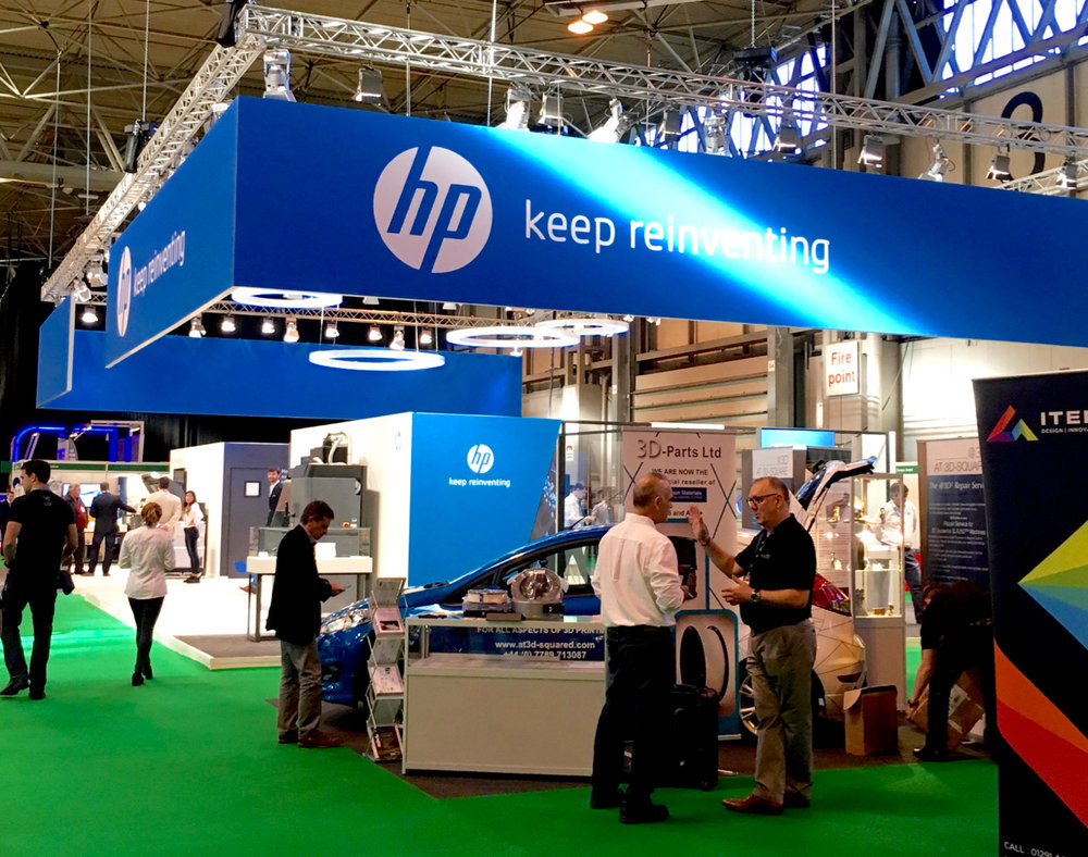 HP's massive display at TCT 2016