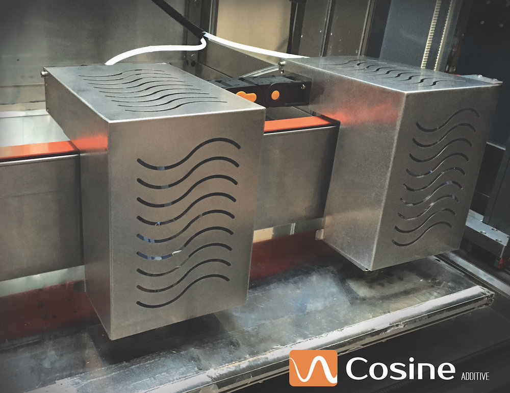 Cosine Additive's new Tandem extrusion system
