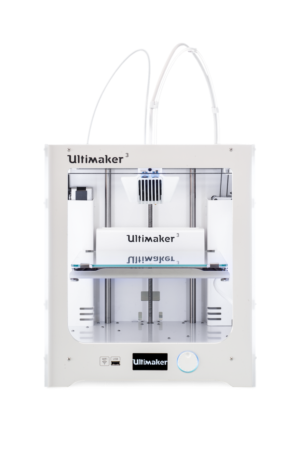 The new Ultimaker 3 desktop 3D printer