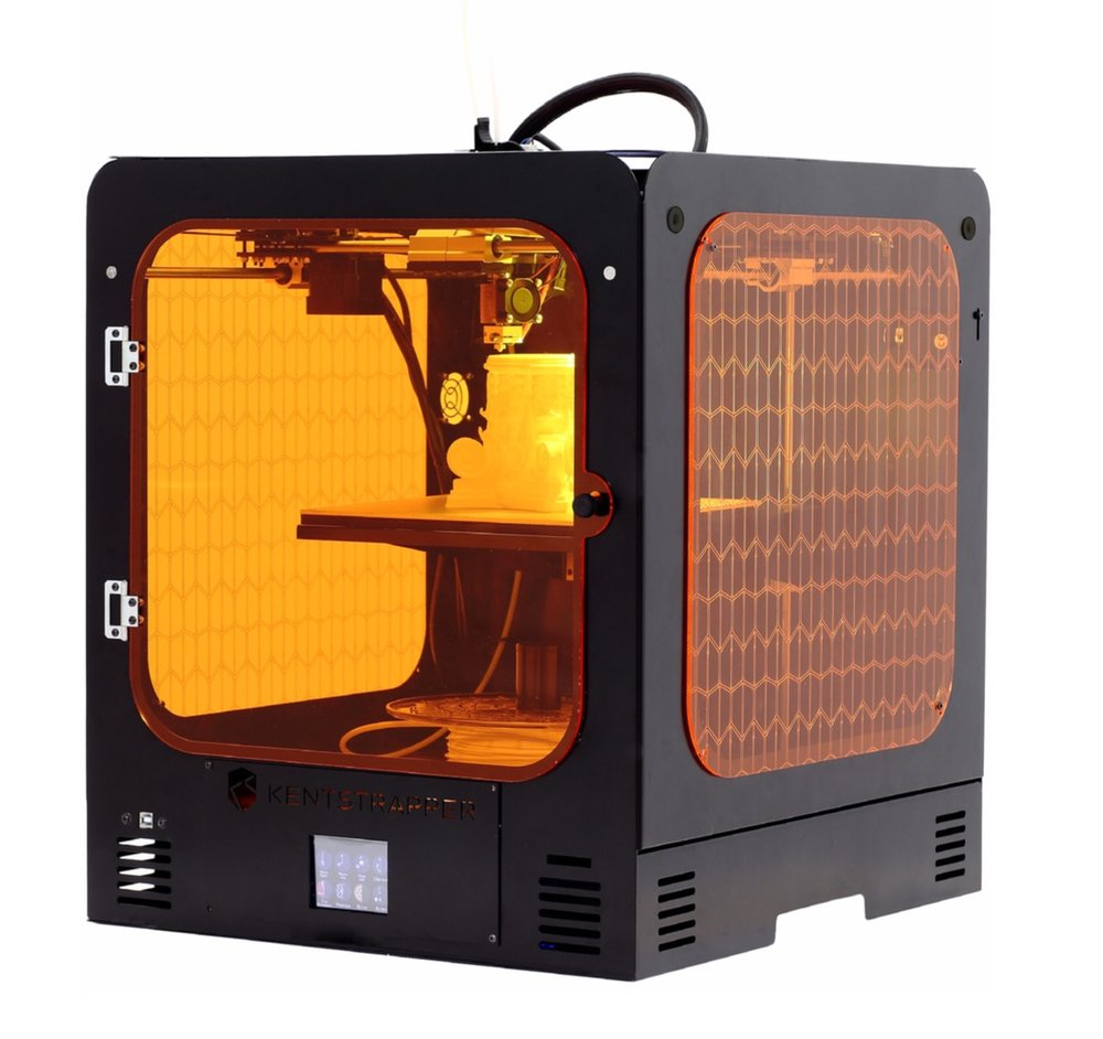 The Verve desktop 3D printer, new from Kentstrapper