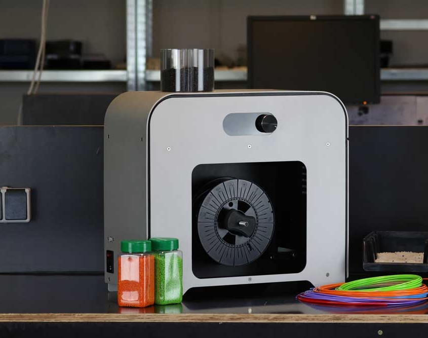The 3devo filament extruder