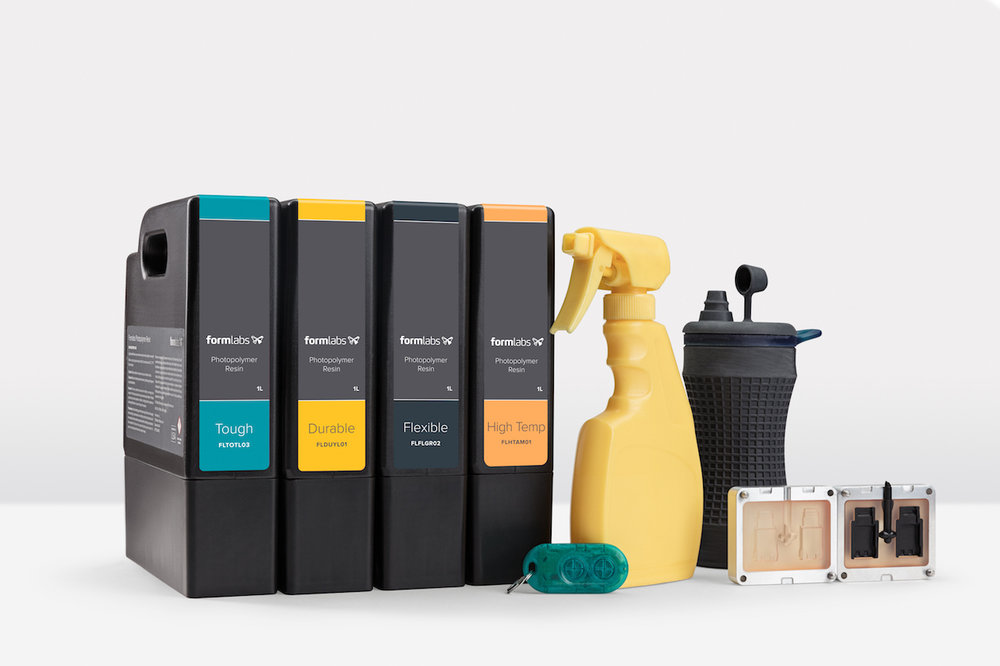 Formlabs' family of engineering resins