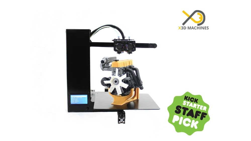 The XMachine Genesis Duo desktop 3D printer