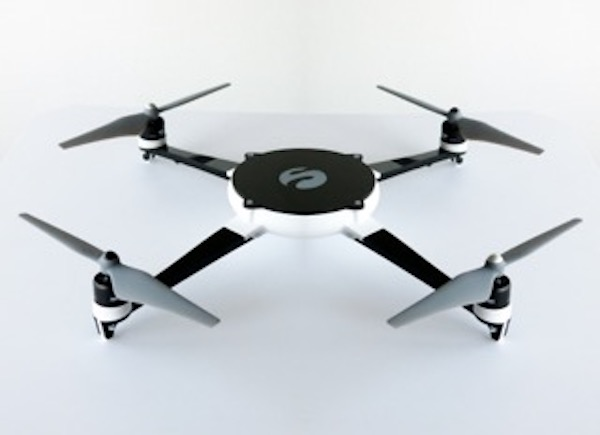 A drone made from 3D printed parts