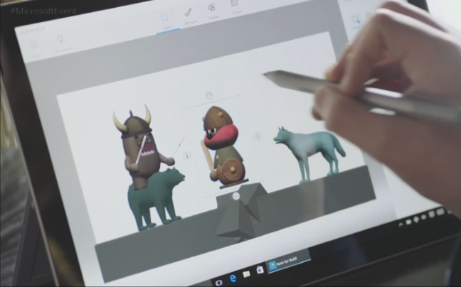 Microsoft's new Paint 3D software