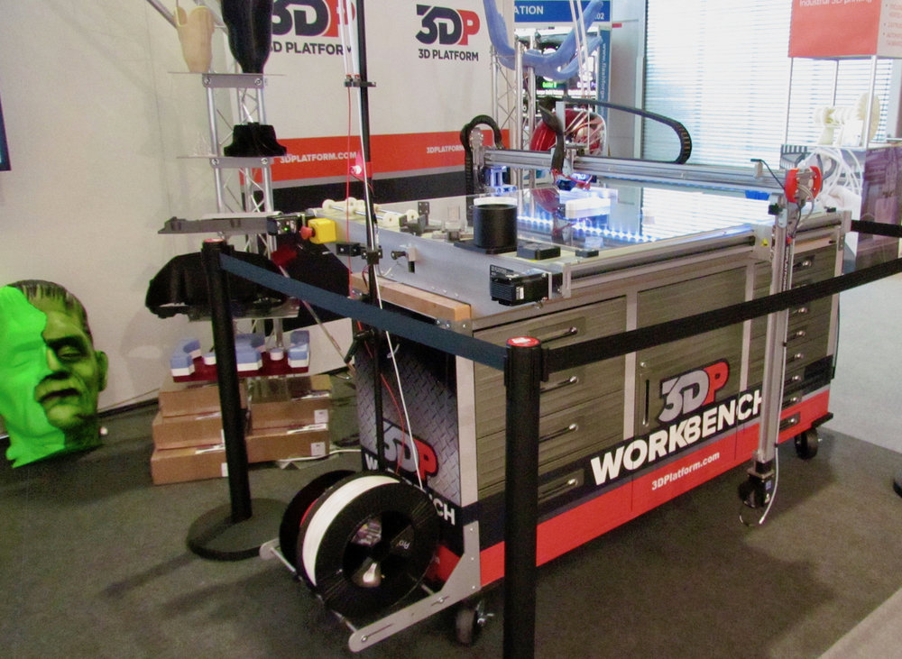 3D Platform's Workbench large-format 3D printer