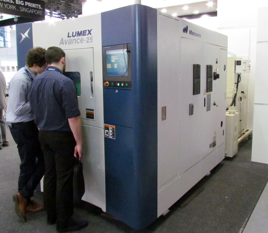The Lumex Avance-25 3D metal printer from Matsuura