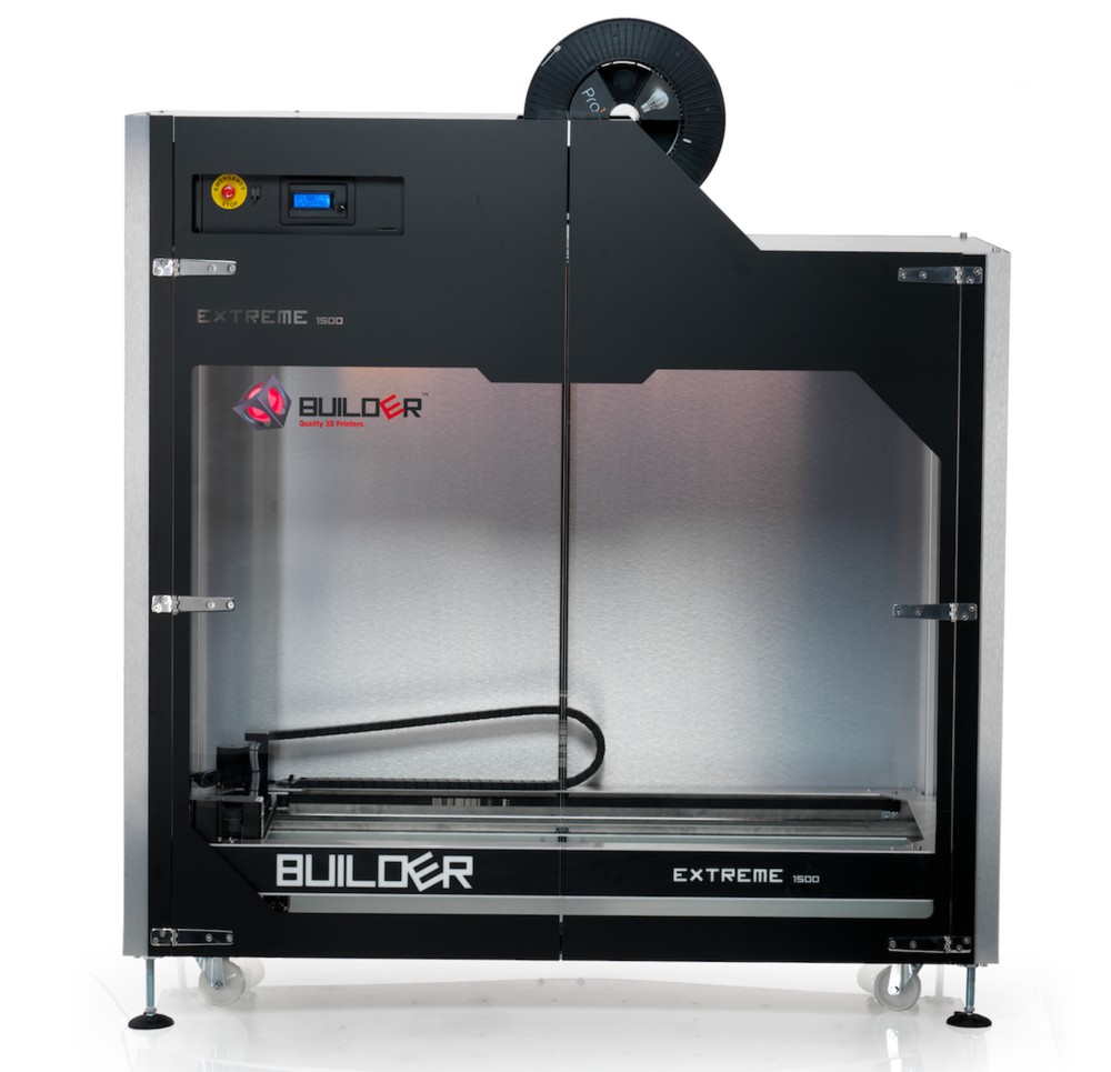 The Builder Extreme 1500 large-format 3D printer