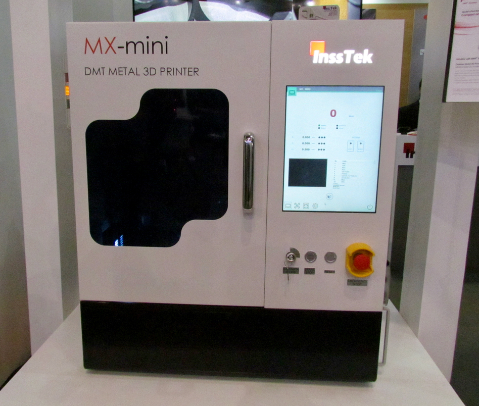 The InssTek Mini - a desktop 3D metal printer