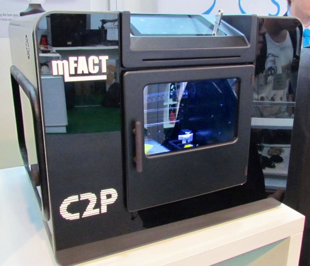 The MFact desktop 3D printer from CAD2Parts