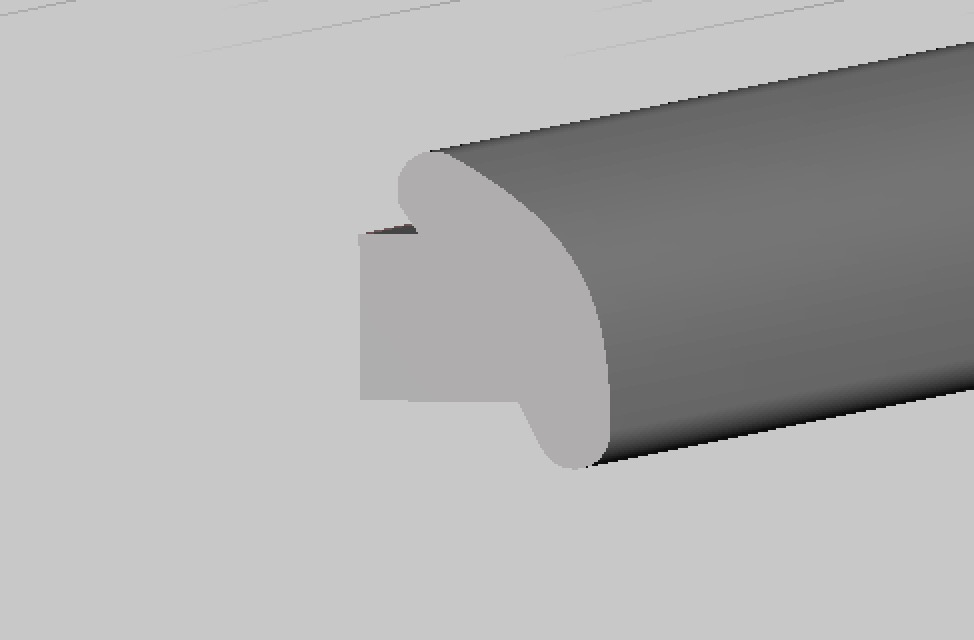 Only a flat simple joint appears on the Glasses Polar 1