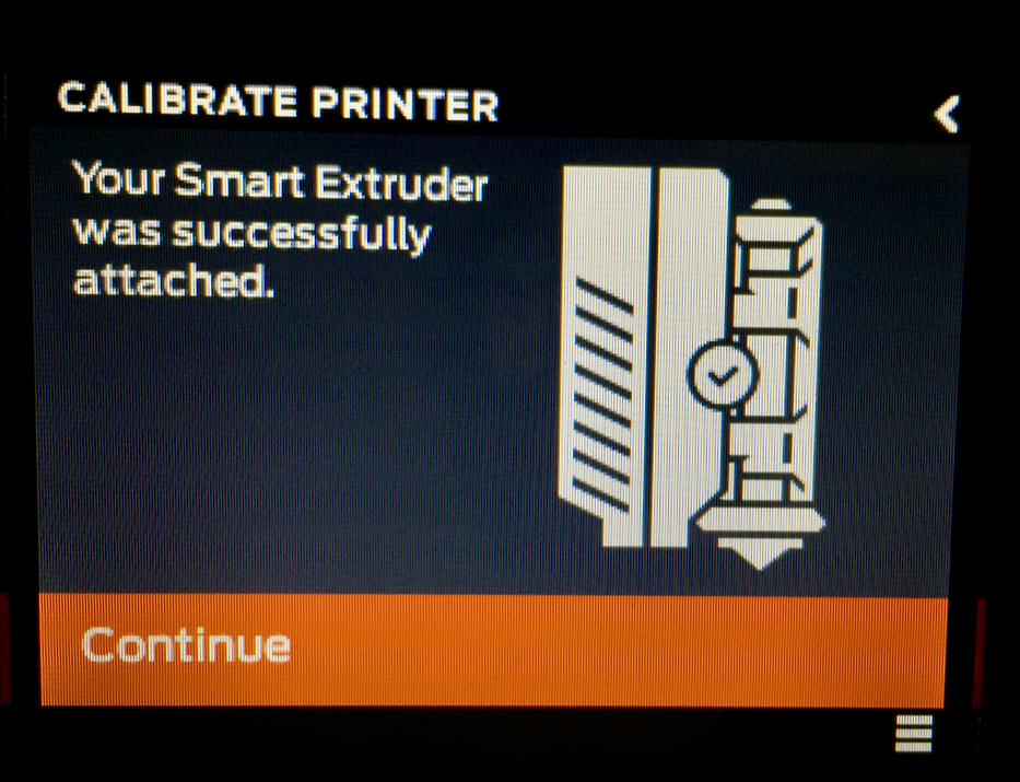 Calibrating the MakerBot Replicator+